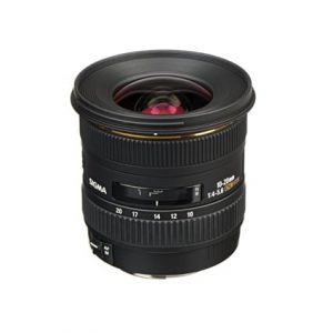 Sigma 10-20mm F4-5.6 Wide Angle Lens