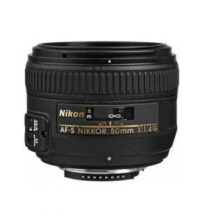 Nikkor 50mm f1.4 Prime Lens