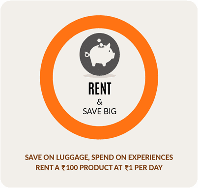 you can not only buy but also rent or even try before you buy our travel gear