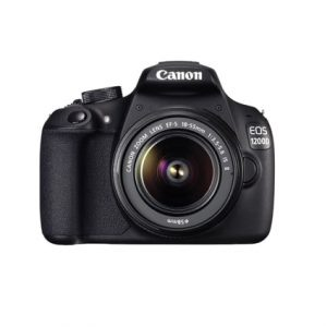 Canon EOS 1200D 18MP DSLR Camera with 18-55mm Lens