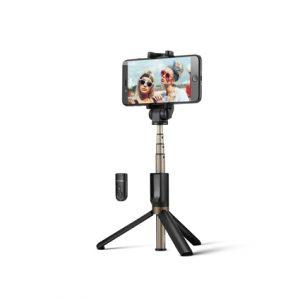 2 in 1 Camera Tripod Bluetooth Selfie Stick Wireless Monopod