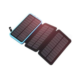 3-Panel Solar Power Bank