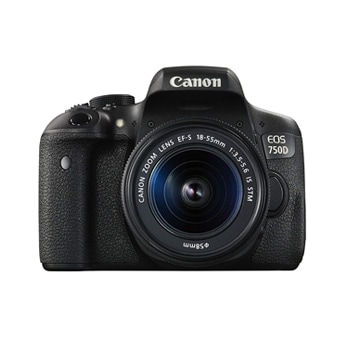 Canon EOS 750D Camera With 18-55mm Lens