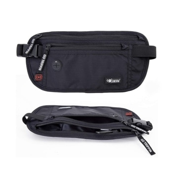 GoTrippin Travel Money Belt, Waist Pouch Bag