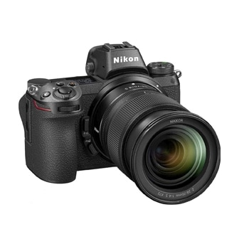 Nikon Z6 mirrorless full frame camera with 24-70mm lens
